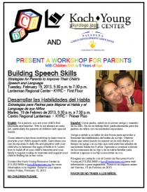 Building Speech Skills Feb 2013 flyer