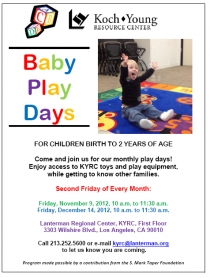 baby play days flyer image