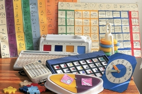 picture of various AAC devices