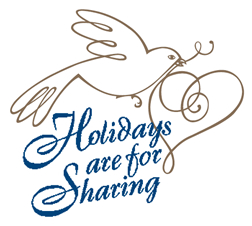 Holidays are for Sharing logo