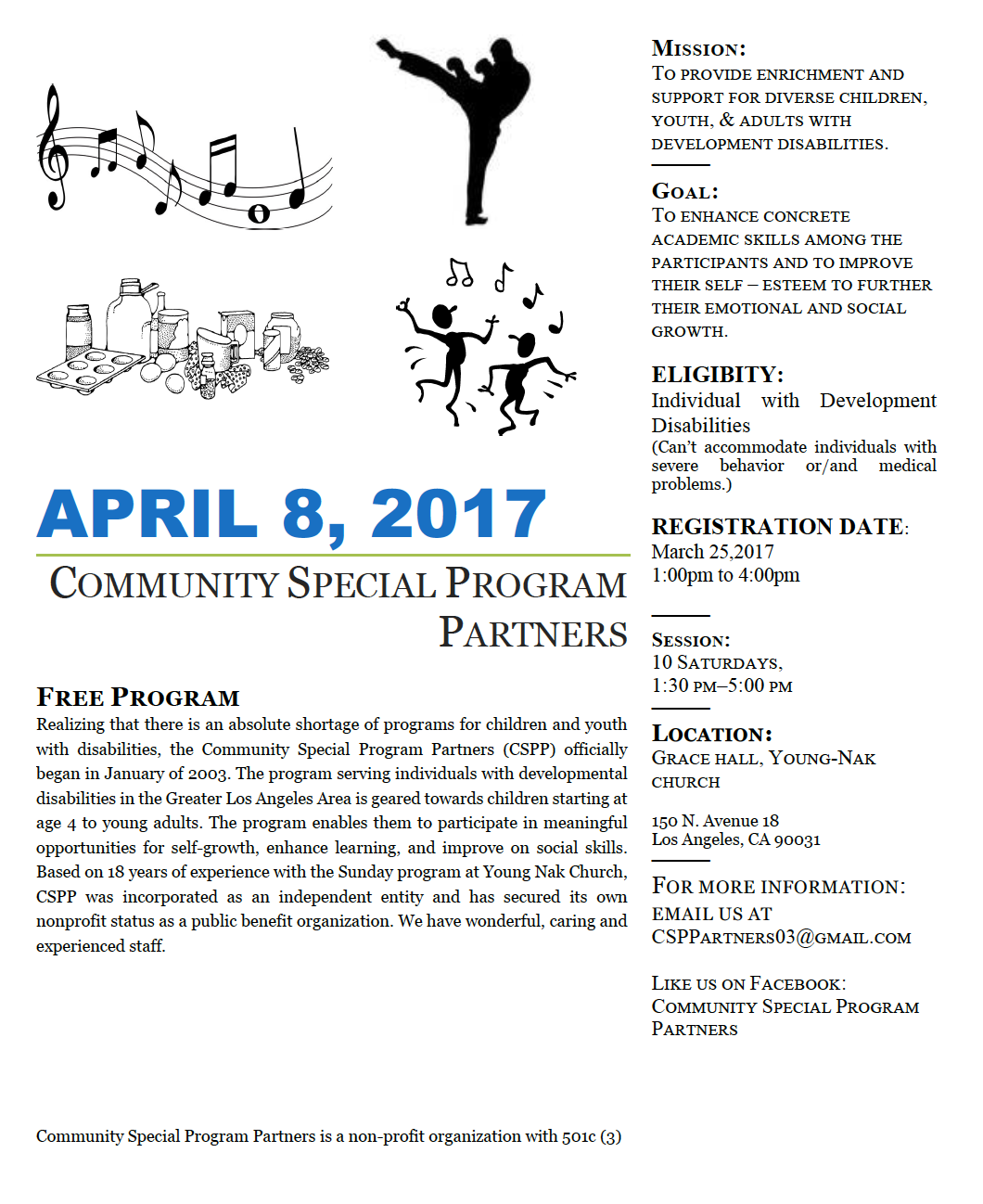 News lanterman cspp saturday program starts april 8 sciox Images